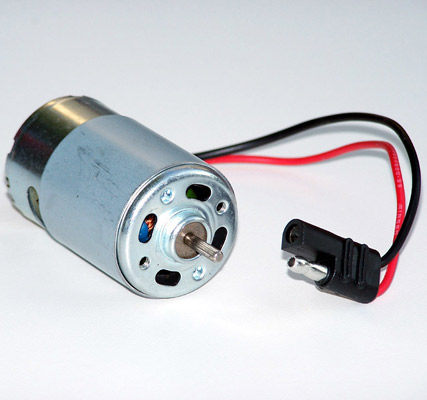Small Motor with Wires Pre-Soldered