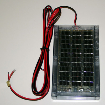 6 Volt Solar Charger