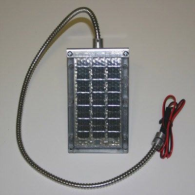 6 Volt Solar Charger w/Cable Bracket