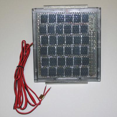 12 Volt Solar Charger w/Barrel Bracket