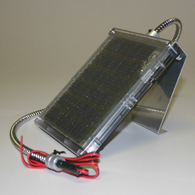 12 Volt Solar Charger w/Cable Bracket