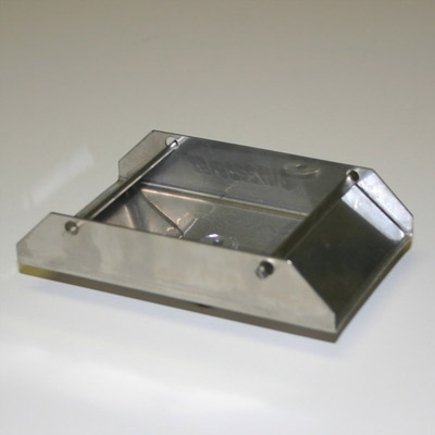 Stainless Steel Scatter Plate (sm) - 1/8 in. hub.