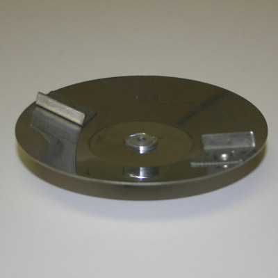 Stainless Steel Cup Plate - 4 in.