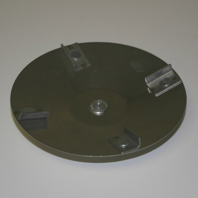 Stainless Steel Cup Plate - 5 in.