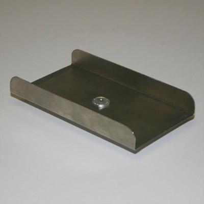 Stainless Steel Rectangular Plate - 1/8 in. hub